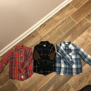 Other - LOT (all 3 included in price!) Toddler Boys Shirts